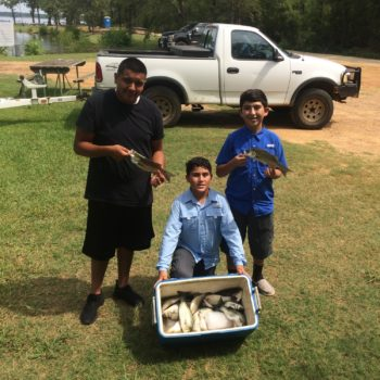 Cedar Creek Lake Fishing Photos: August 11th, 2017